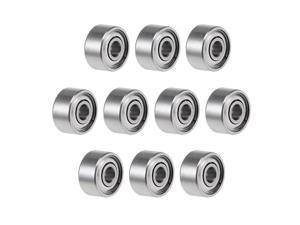 692ZZ Deep Groove Ball Bearings 2mm Inner Dia 6mm OD 3mm Bore Double Shielded Chrome Steel Z2 10pcs