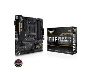 ASUS TUF B450 Gaming Motherboard AMD Ryzen 2 AM4 DDR4 HDMI DVI-D M.2 Micro ATX (TUF B450M-Plus Gaming)