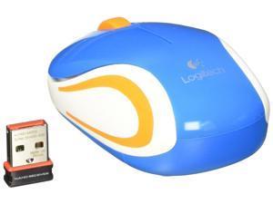 Logitech M187 Wireless Optical Mini Mouse Blue 910-002728