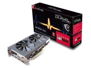 Sapphire 11266-04-20G Radeon PULSE RX 570 4GB GDDR5 DUAL HDMI / DVI-D / DUAL DP OC with backplate (UEFI) PCI-E Graphics Card