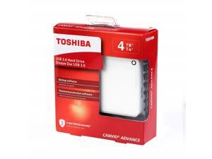 "Toshiba Canvio Advance Hdtc940xw3ca 4 Tb Portable Hard Drive - 2.5"" External - White"