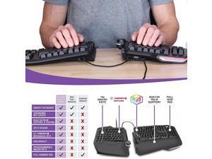 Cloud Nine Ergonomic Mechanical Keyboard, C989M