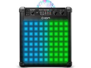 Ion PARTYRCKRMAX Wireless Rechargeable Speaker with Multi-Effect Party Lights