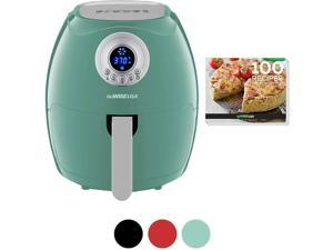 GoWISE GW22961 3.7-Quart Digital Air Fryer + 100 Recipes - Mint