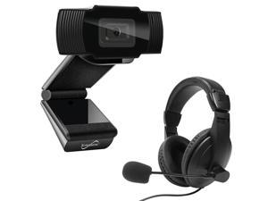 Supersonic SC942WCH Pro HD Video Webcam with Headset
