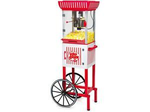 Nostalgia PC25RW 2.5 oz Popcorn & Concession Cart