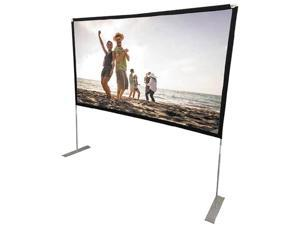 """RCA RPJ144 100"""" Diagonal Portable Projector Screen With Stand"""
