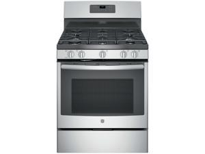 GE JGB660SEJSS 5.0 Cu. Ft. Stainless 5 Burner Gas Range