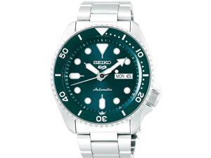 Seiko SRPD61 5 Sports 24-Jewel Automatic Watch - Teal