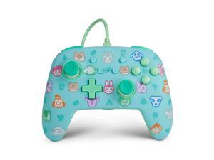 Power A NSWCONANXING Enhanced Wired Controller for Nintendo Switch - Animal Crossing