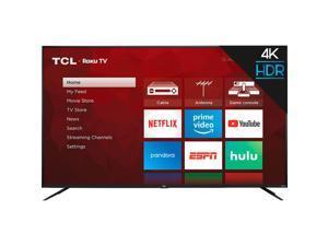 "TCL 85"" Class 4-Series 4K UHD HDR LED Smart ROKU TV - 85S435"