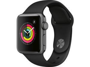 Apple MTF02RB Watch Series 3 (GPS) - Space Gray - 38mm
