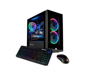 iBuyPower Element Mini 167A Gaming Desktop 3.6 GHz, AMD Ryzen 5 3600 Six-Core 8GB, DDR4 | 240GB SSD, GeForce GT 730 (2GB GDDR3), w/Windows 10 Home