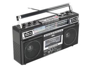 QFX J220BT Bluetooth Radio/Cassette to MP3 Converter Boombox