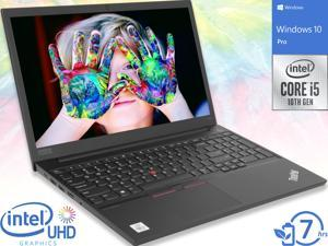 "Lenovo ThinkPad E15 Notebook, 15.6"" FHD Display, Intel Core i5-10210U Upto 4.2GHz, 4GB RAM, 500GB HDD, HDMI, Wi-Fi, Bluetooth, Windows 10 Pro (20RD006BUS)"