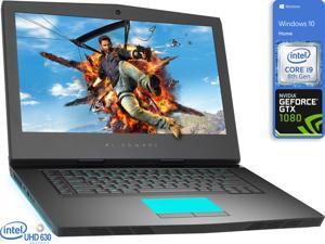 "Dell Alienware 15R4 Gaming Notebook, 15.6"" 4K UHD Display, Intel Core i9-8950HK Upto 4.8GHz, 8GB RAM, 128GB NVMe SSD, GeForce GTX 1080, HDMI, Mini DisplayPort, Thunderbolt, Windows 10 Home"