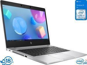 "HP EliteBook 830 G6 Notebook, 13.3"" IPS FHD Display, Intel Core i7-8665U Upto 4.8GHz, 16GB RAM, 512GB NVMe SSD, HDMI, Thunderbolt, Wi-Fi, Bluetooth, Windows 10 Pro (9VU65UT)"