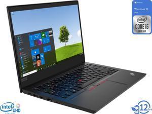 "Lenovo ThinkPad E14 Notebook, 14"" FHD Display, Intel Core i5-10210U Upto 4.2GHz, 16GB RAM, 512GB NVMe SSD, HDMI, DisplayPort via USB-C, Wi-Fi, Bluetooth, Windows 10 Pro"