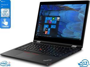 "Lenovo ThinkPad L390 Yoga 2-in-1, 13.3"" IPS FHD Touch Display, Intel Core i3-8145U Upto 3.9GHz, 16GB RAM, 512GB SSD, HDMI, DisplayPort via USB-C, Card Reader, Wi-Fi, Bluetooth, Windows 10 Pro"