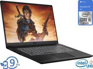 "MSI Modern 15 Notebook, 15.6"" IPS FHD Display, Intel Core i5-10210U Upto 4.2GHz, 16GB RAM, 1TB NVMe SSD, HDMI, Card Reader, Wi-Fi, Bluetooth, Windows 10 Pro"
