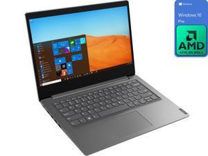 """Lenovo V14 Notebook, 14"""" FHD Display, AMD Athlon Gold 3150U Upto 3.3GHz, 8GB RAM, 256GB NVMe SSD, HDMI, Wi-Fi, Bluetooth, Windows 10 Pro"""