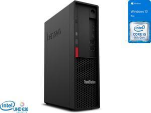 Lenovo ThinkStation P330 Desktop, Intel Core i5-9500 Upto 4.4GHz, 16GB RAM, 512GB SSD, DVDRW, DisplayPort, Wi-Fi, Bluetooth, Windows 10 Pro