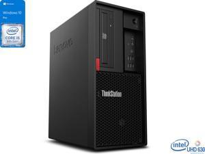 Lenovo ThinkStation P330 Desktop, Intel Core i5-9500 Upto 4.4GHz, 16GB RAM, 512GB SSD, DVDRW, DisplayPort, Wi-Fi, Windows 10 Pro