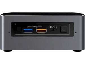 Intel NUC NUC7i5BNH Mini PC/HTPC, Intel i5-7260U 3.4GHz, 8GB DDR4, 512GB SSD, Windows 10 Pro, Wifi, Bluetooth, 4k Support, Dual Monitor Capable