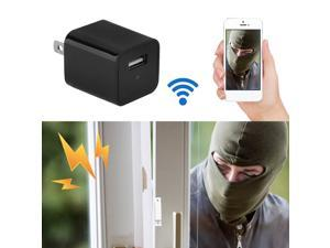 8GB HD 1080P Mini Portable AC Adapter Plug Charger Home Office Undercover Camera DVR US Plug