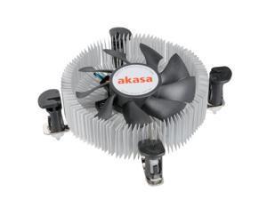 Akasa AK-CCE-7106HP Heatsink and Fan includes Embedded 8cm PWM Fan with S-Flow Blades for Socket 775/1155/1156
