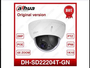 Dahua DH-SD22204T-GN CCTV IP camera 2 Megapixel Full HD Network Mini PTZ Dome 4x optical zoom POE Camera