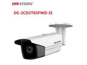 8MP Hikvision DS-2CD2T85FWD-I5 POE IR H.265 Camera English Version Upgradable 4MM lens