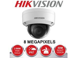 HIKVISION 4K IR Dome Camera 8MP 2.8mm DS-2CD2183G0-I H.265+ Built-in micro Face Detection