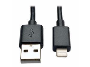 "10"" Lightning USB Cable Blk 10pc - M100-10N-BK-10"