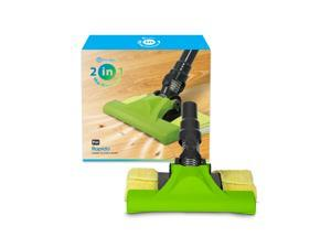 ROLLIBOT 2-in-1 Microfiber Floor Mop for the Rapido Vacuum: Mops or Sweeps as you Vacuum; Cleans All Hard Surfaces