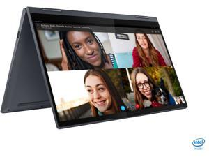 "Lenovo Yoga 7i 2-in-1 14"" Touch Screen Laptop Intel Evo Platform Core i7-1165g7, 12GB Memory, 512GB Solid State Drive Slate, Backlit Keyboard, Bluetooth, Webcam, Slate Grey - 82BH0002US"