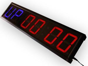 """EU 4"""" 6 digits Programmable GYMinteval countdown countup and stopwatch"""