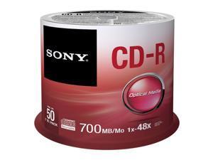 Sony 50Cdq80sp 80Min/700Mb 50Pk Cdr 48X