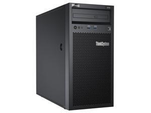 Lenovo ThinkSystem ST50 7Y49 - Server - tower - 4U - 1-way - 1 x Xeon E-2224G / 3.5 GHz - RAM 8 GB - HDD 2 x 1 TB - DVD-