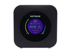 NETGEAR MR1100-100EUS Nighthawk LTE Mobile Hotspot Router Full Dual-Band / Dual-Concurrent Wi-Fi Wi-Fi 802.11 b/g/n 2.4 GHz; Wi-Fi 802.11 a/n/ac 5 GHz