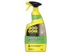 Goo Gone® Grout and Tile Cleaner, Citrus Scent, 28 oz Trigger Spray Bottle, 6/CT