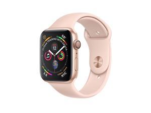Apple MU6G2B/A Watch Series 4 GPS, 44mm Gold Aluminium Case with Pink Sand Sport Loop