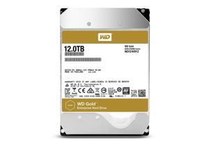 "WD Gold Enterprise-Class Hard Drive WD121KRYZ - Hard drive - 12 TB - internal - 3.5"" - SATA 6Gb/s - 7200 rpm - buffer: 2"