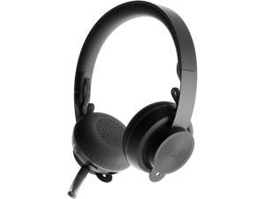 Logitech Zone Wireless Plus - Headset - on-ear - Bluetooth - wireless - active noise cancelling - noise isolating