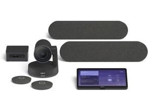 Logitech Room Solutions for Microsoft Teams include everything you need to build out conference rooms with one or two di