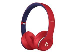 Beats Solo3 - Beats Club Collection - headphones with mic - on-ear - Bluetooth - wireless - noise isolating - club red -