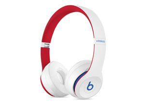 Beats Solo3 - Beats Club Collection - headphones with mic - on-ear - Bluetooth - wireless - noise isolating - club white