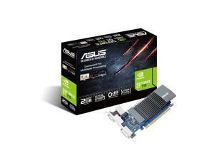 ASUS GeForce GT 710 Silent Low Profile 2GB PCI-E x16 2.0 GDDR5 Graphics Card (90YV0AL3-M0NA00)