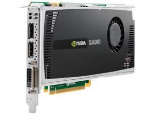HP Quadro 4000 WS095AT 2GB 256-bit DDR5 PCI Express 2.0 x16 Workstation Video Card