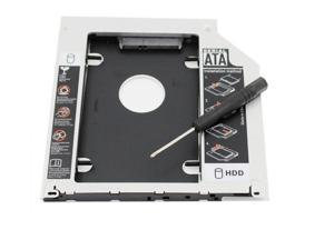2.5 inches SATA 2nd HDD/SSD HARD DRIVE SATA to SATA caddy Tray for Apple MacBook / MacBook Pro 13 15 17 CD/DVD-ROM Optical Bay